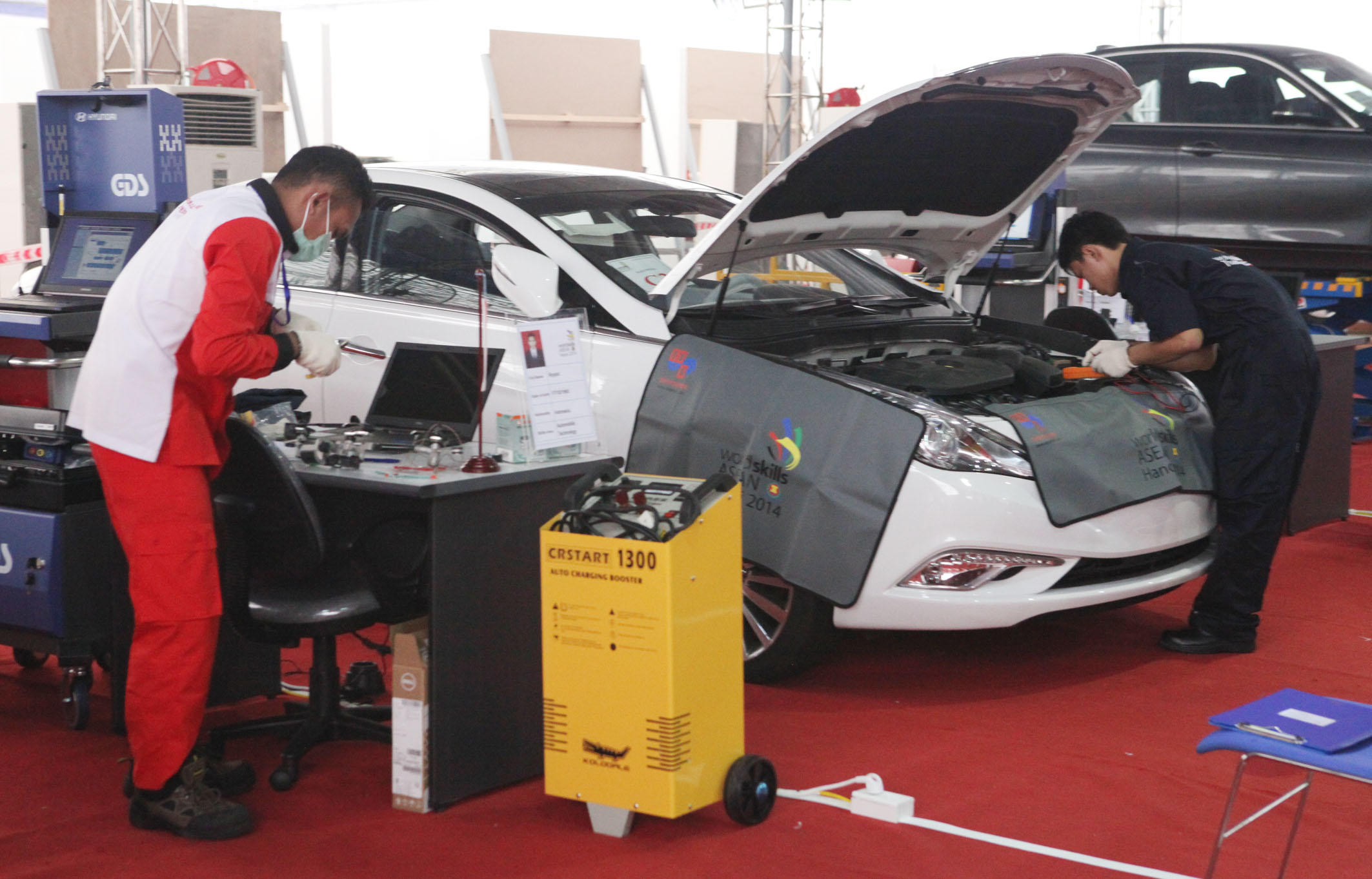 Contestants of Automobile Technology, Anh Tuan – Vietnam News Agency