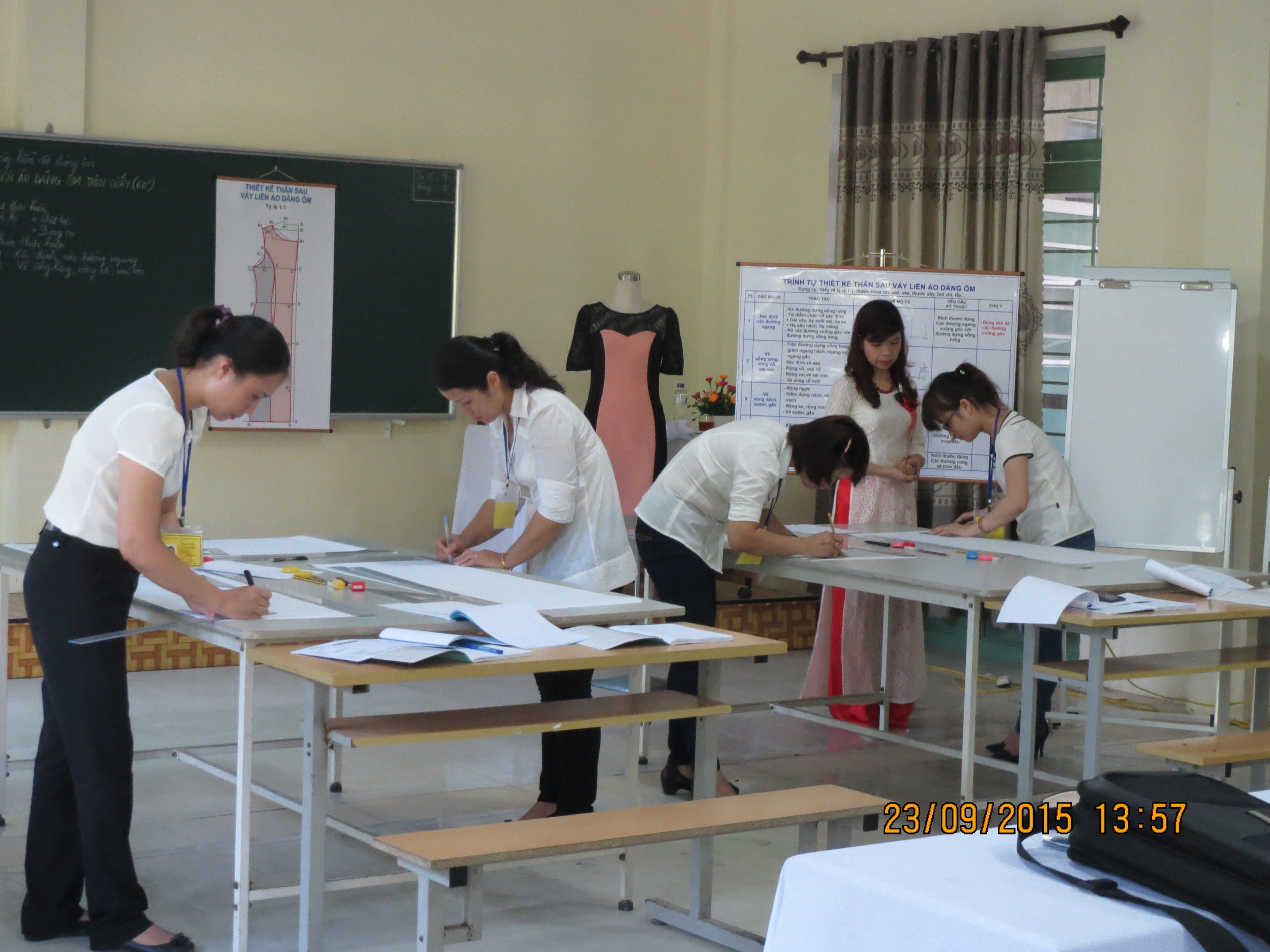 Practice session of Sewing