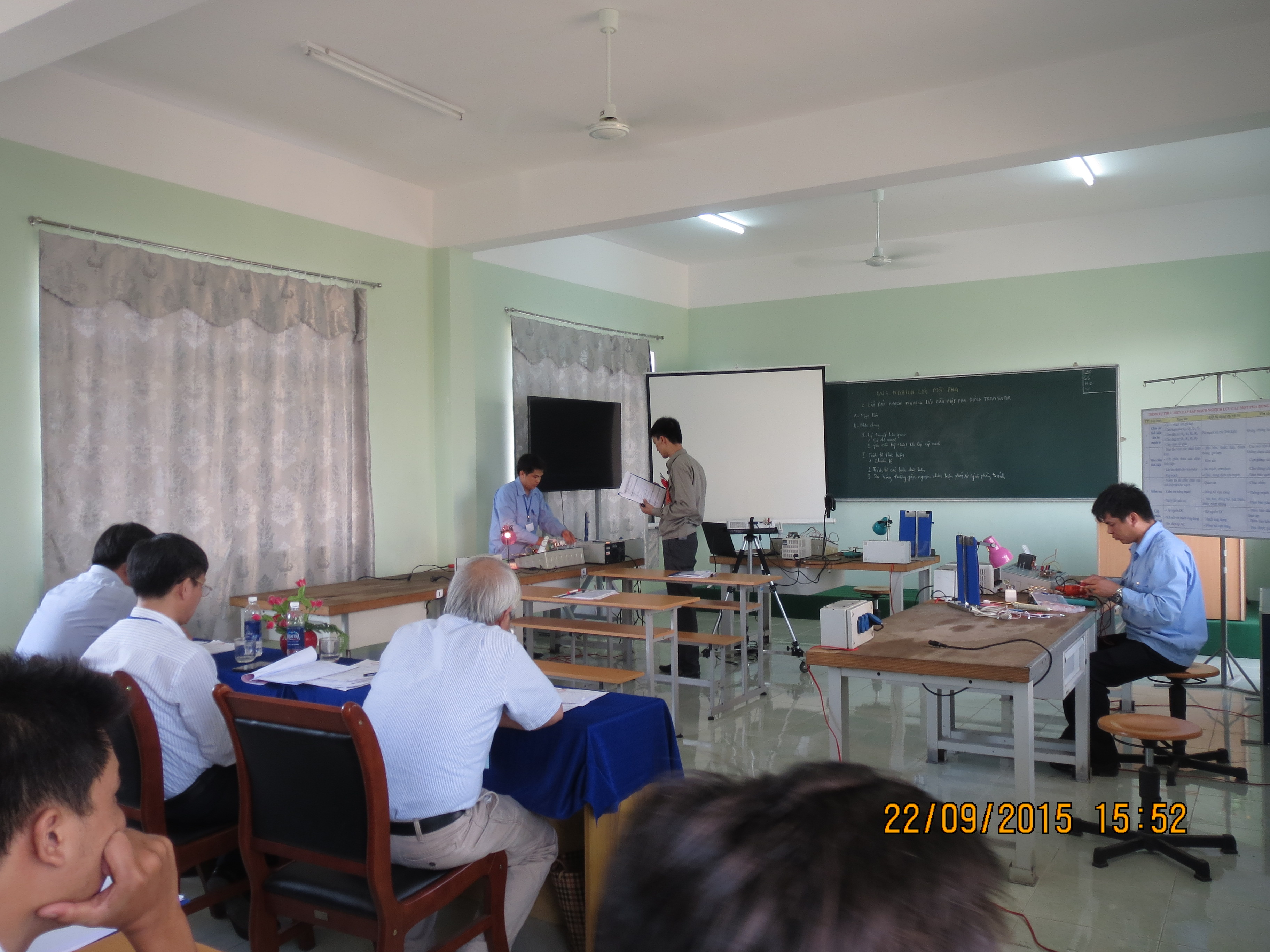 Presentation of lecture on Electronics
